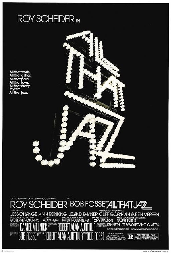 'All That Jazz' movie poster