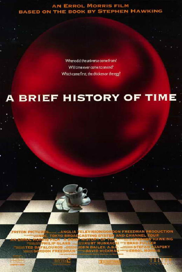 'A Brief History Of Time' movie poster