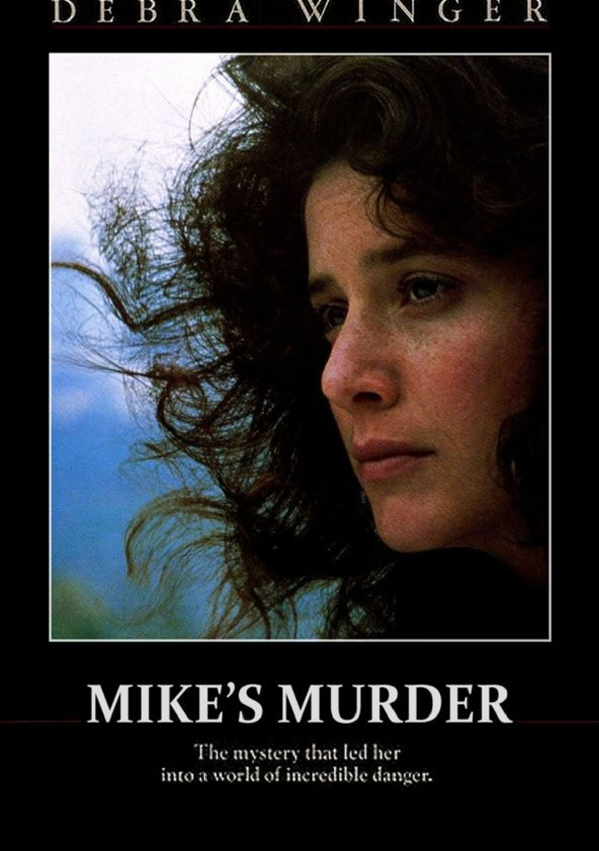 'Mike's Murder' movie poster