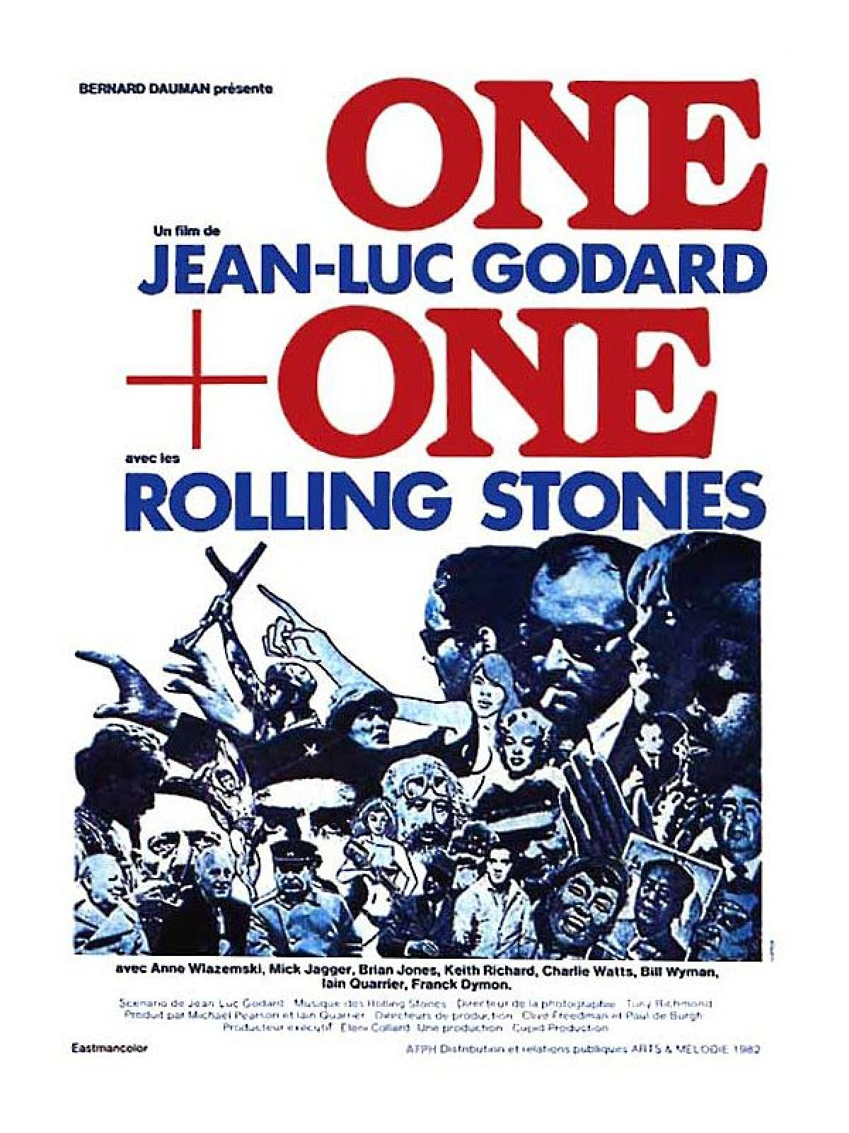'One Plus One (Sympathy For the Devil)' movie poster