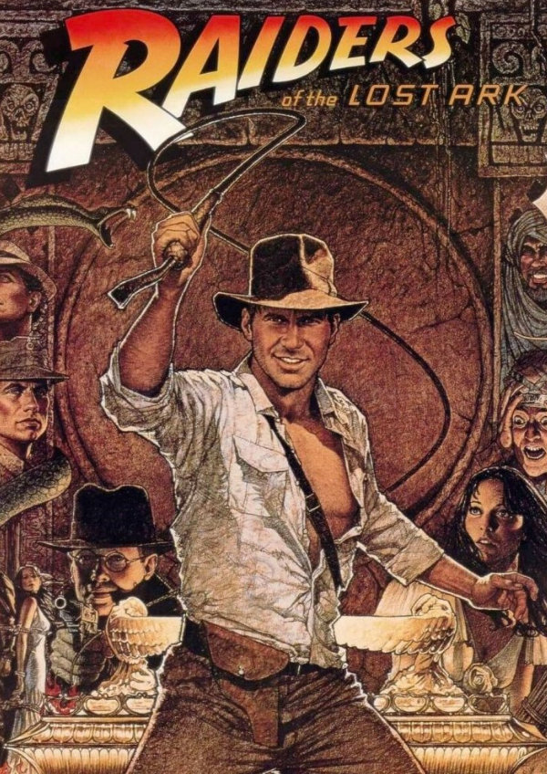 'Raiders Of The Lost Ark' movie poster