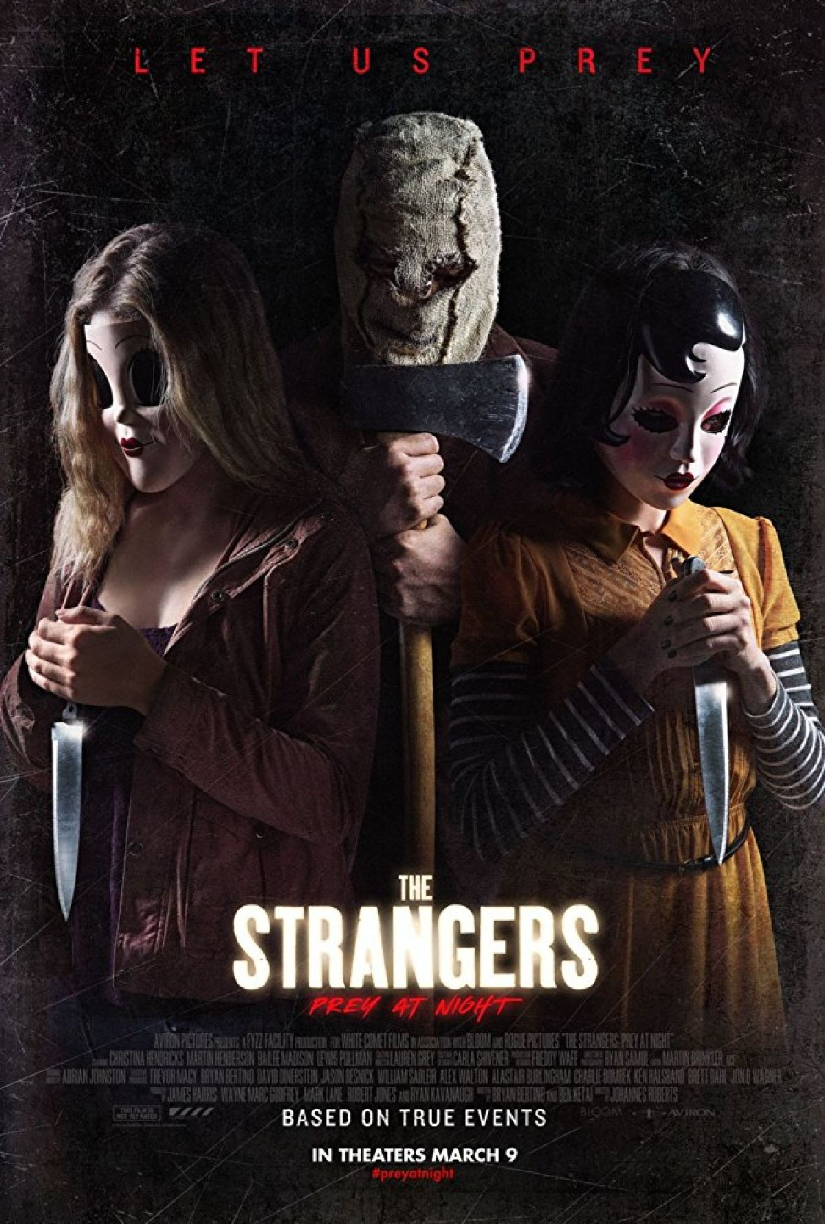 'The Strangers: Prey At Night' movie poster