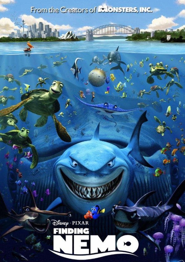 'Finding Nemo' movie poster