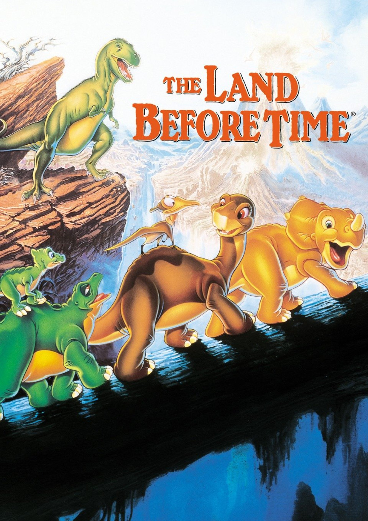 'The Land Before Time' movie poster