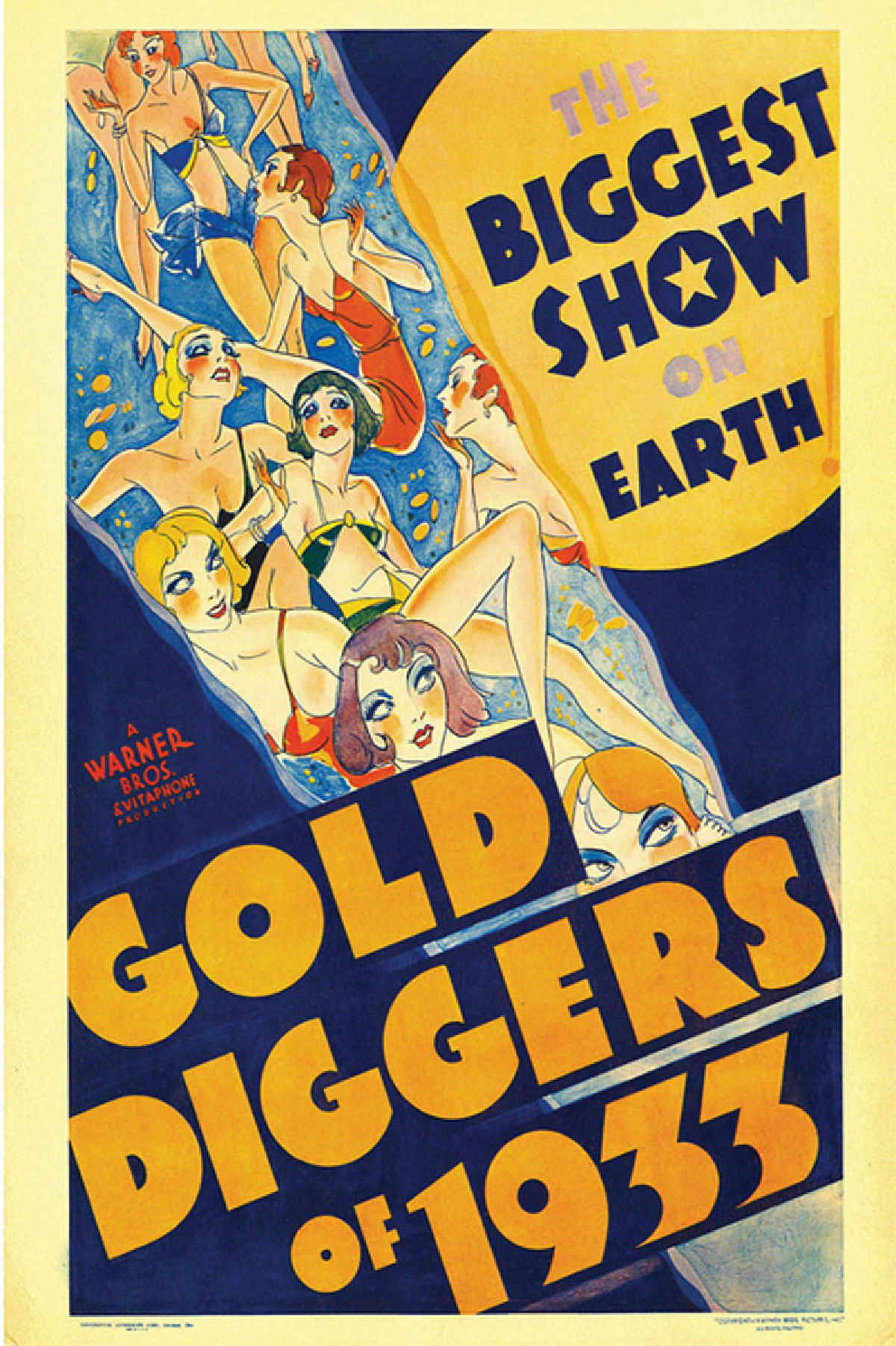 'Gold Diggers Of 1933' movie poster