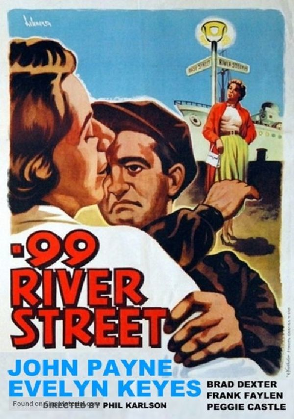 '99 River Street' movie poster