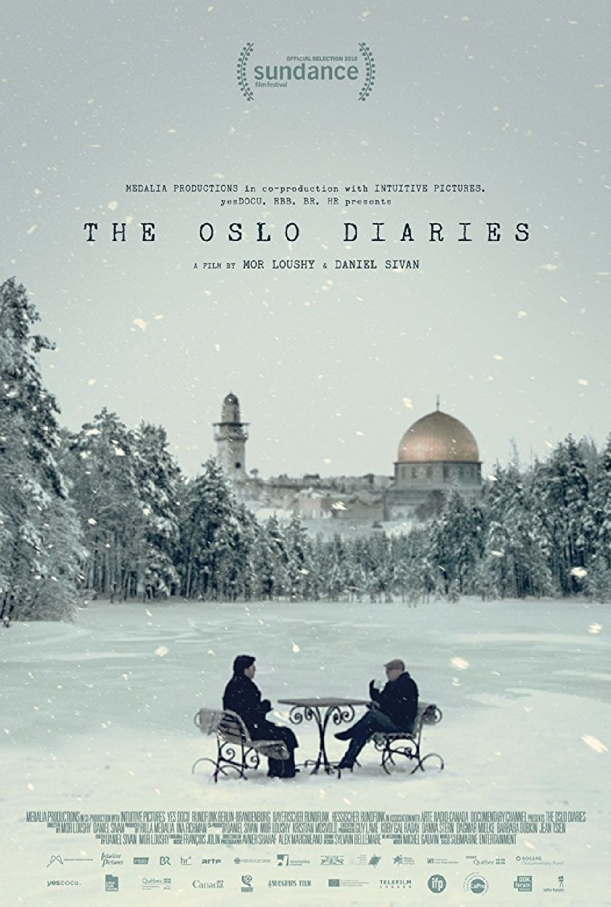 'The Oslo Diaries' movie poster