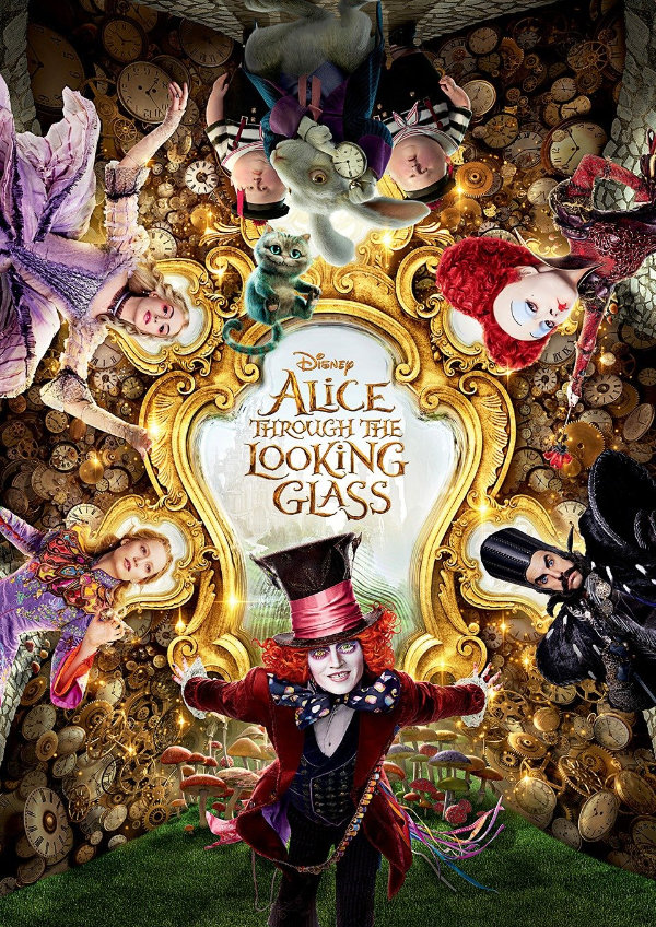 'Alice Through the Looking Glass' movie poster