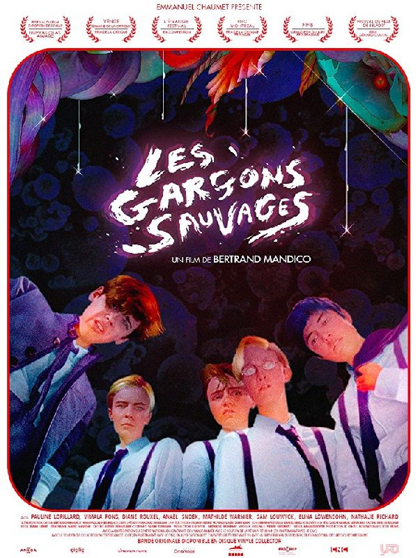 'The Wild Boys (Les Garcons Sauvages)' movie poster
