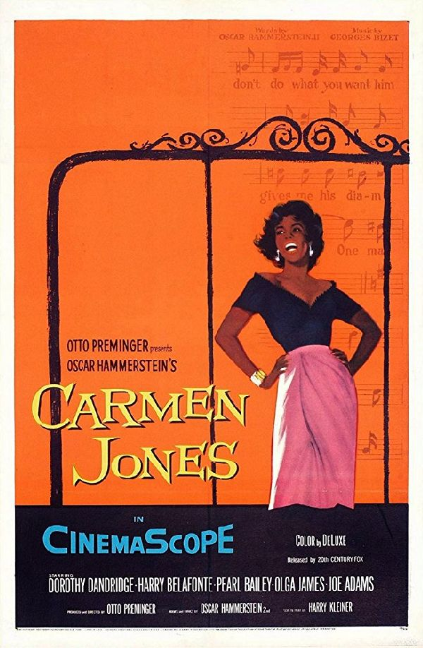 'Carmen Jones' movie poster