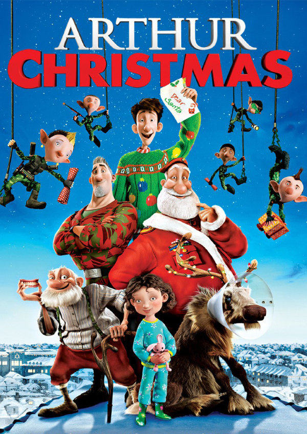 'Arthur Christmas' movie poster