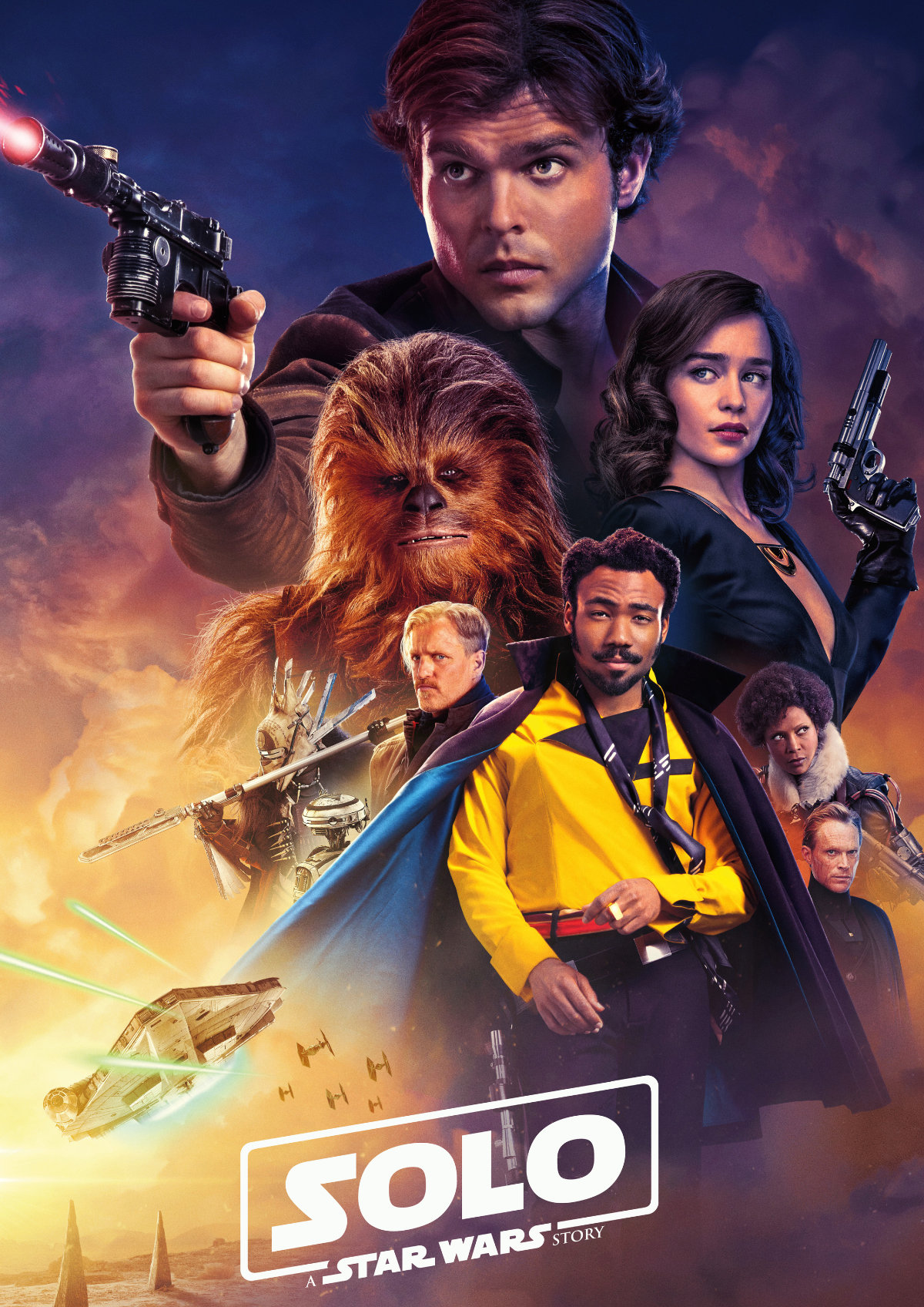 'Solo: A Star Wars Story' movie poster