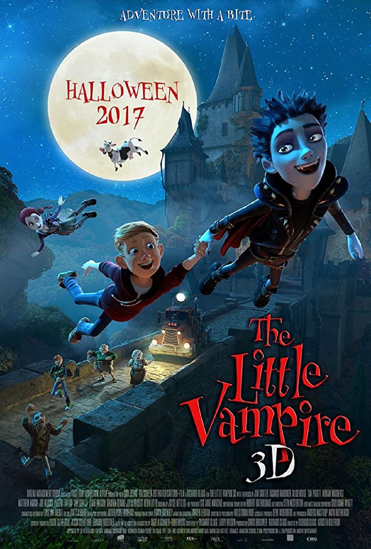 'The Little Vampire' movie poster