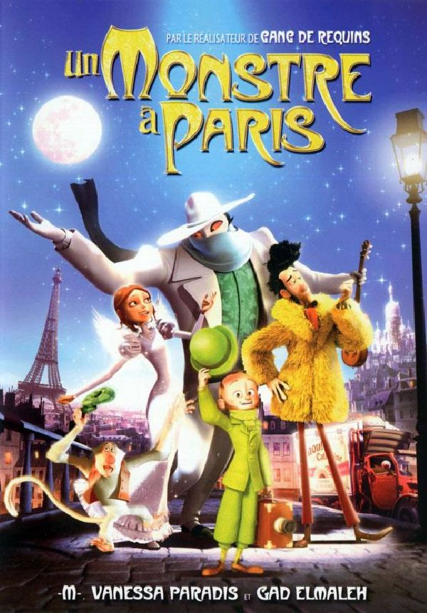 'A Monster In Paris' movie poster