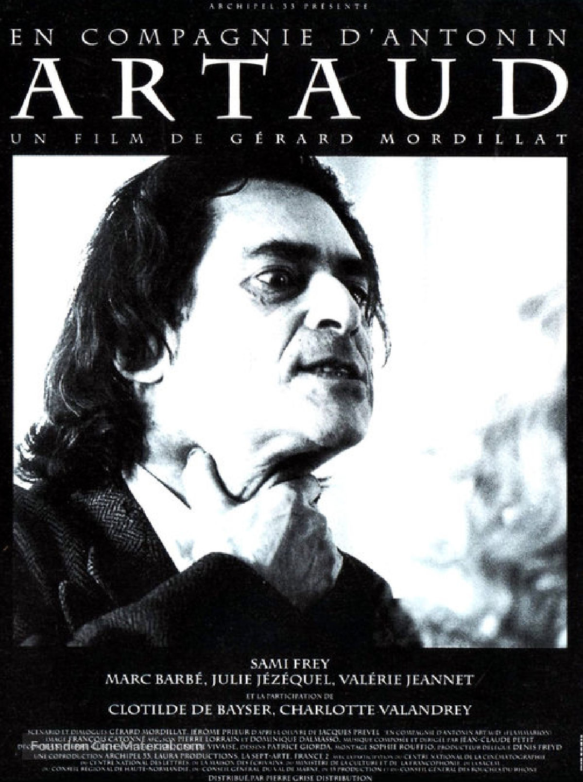 'En Compagnie D'Antonin Artaud' movie poster