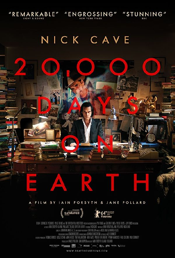 '20,000 Days On Earth' movie poster