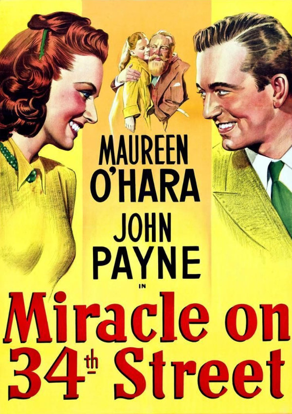 'Miracle on 34th Street (1947)' movie poster