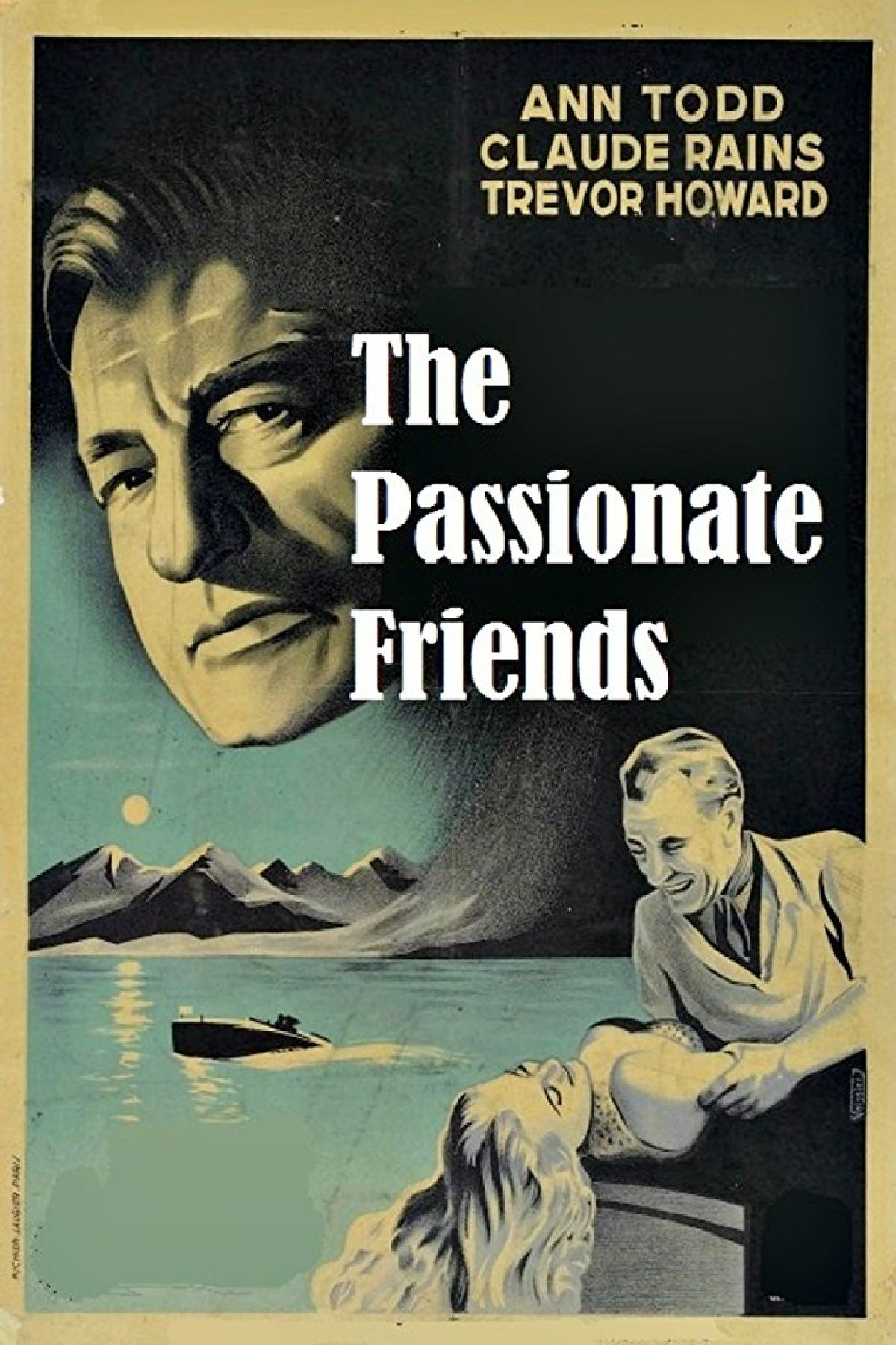 'The Passionate Friends' movie poster