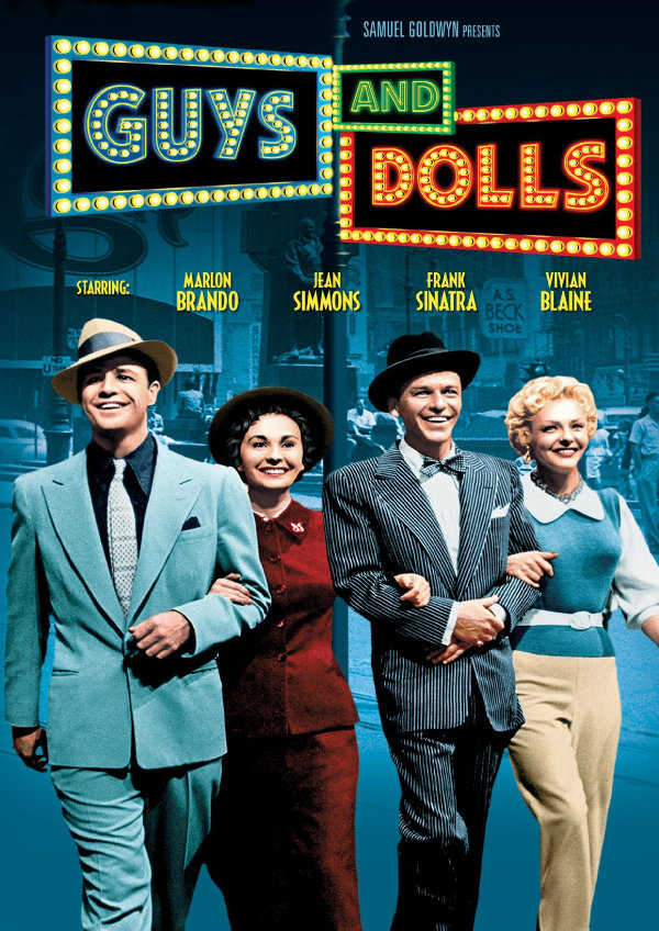 'Guys And Dolls' movie poster