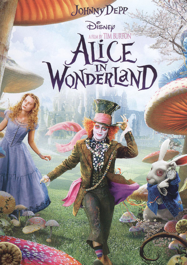 'Alice in Wonderland' movie poster