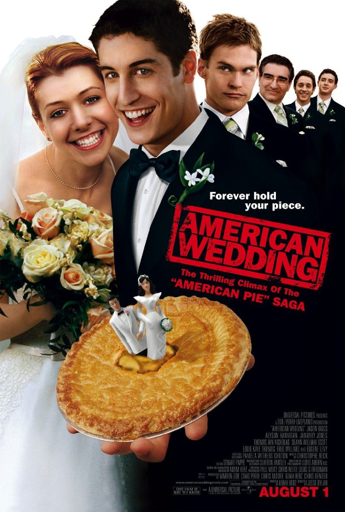 'American Pie: The Wedding' movie poster