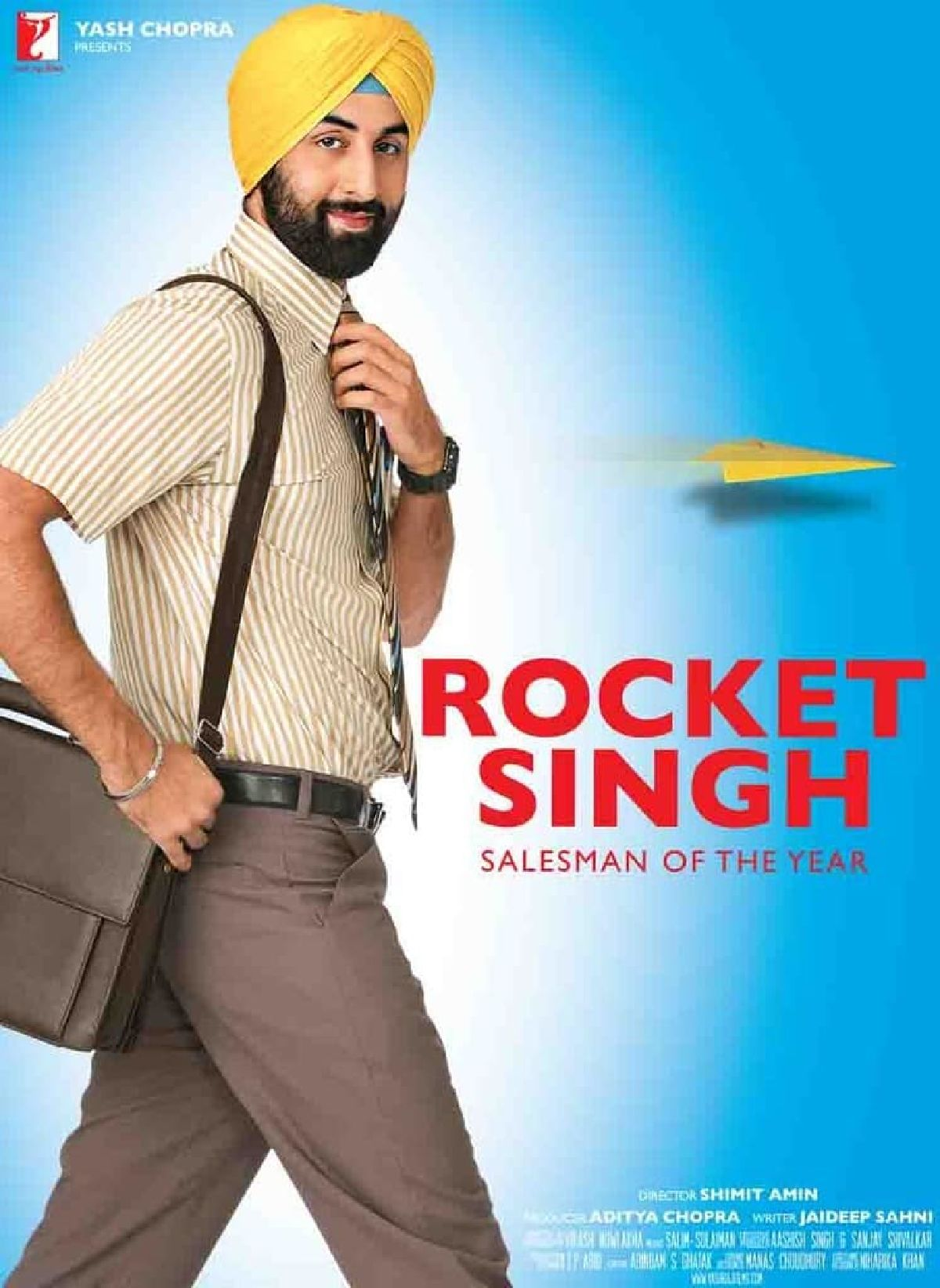 'Rocket Singh: Salesman Of The Year' movie poster