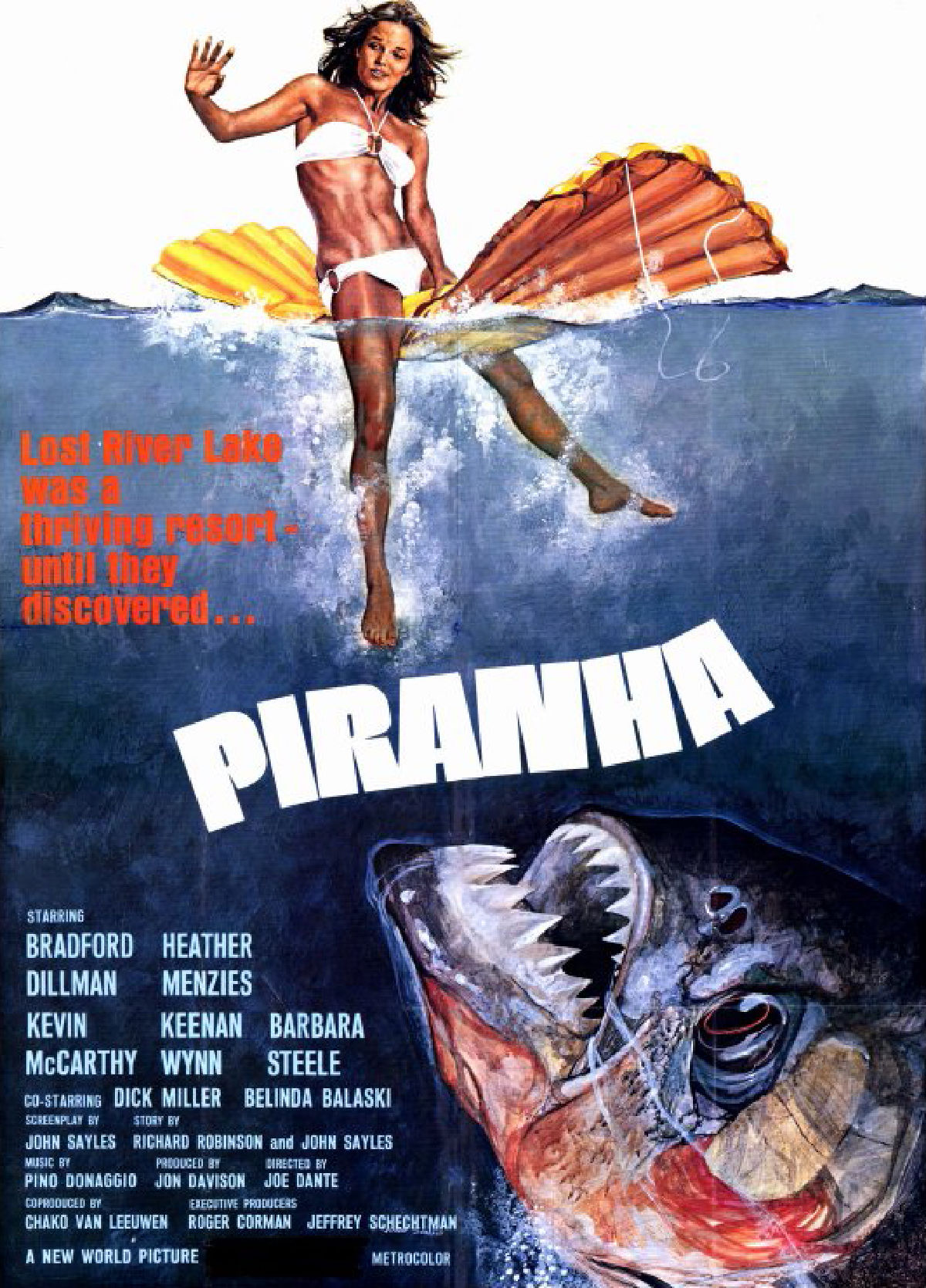 'Piranha' movie poster