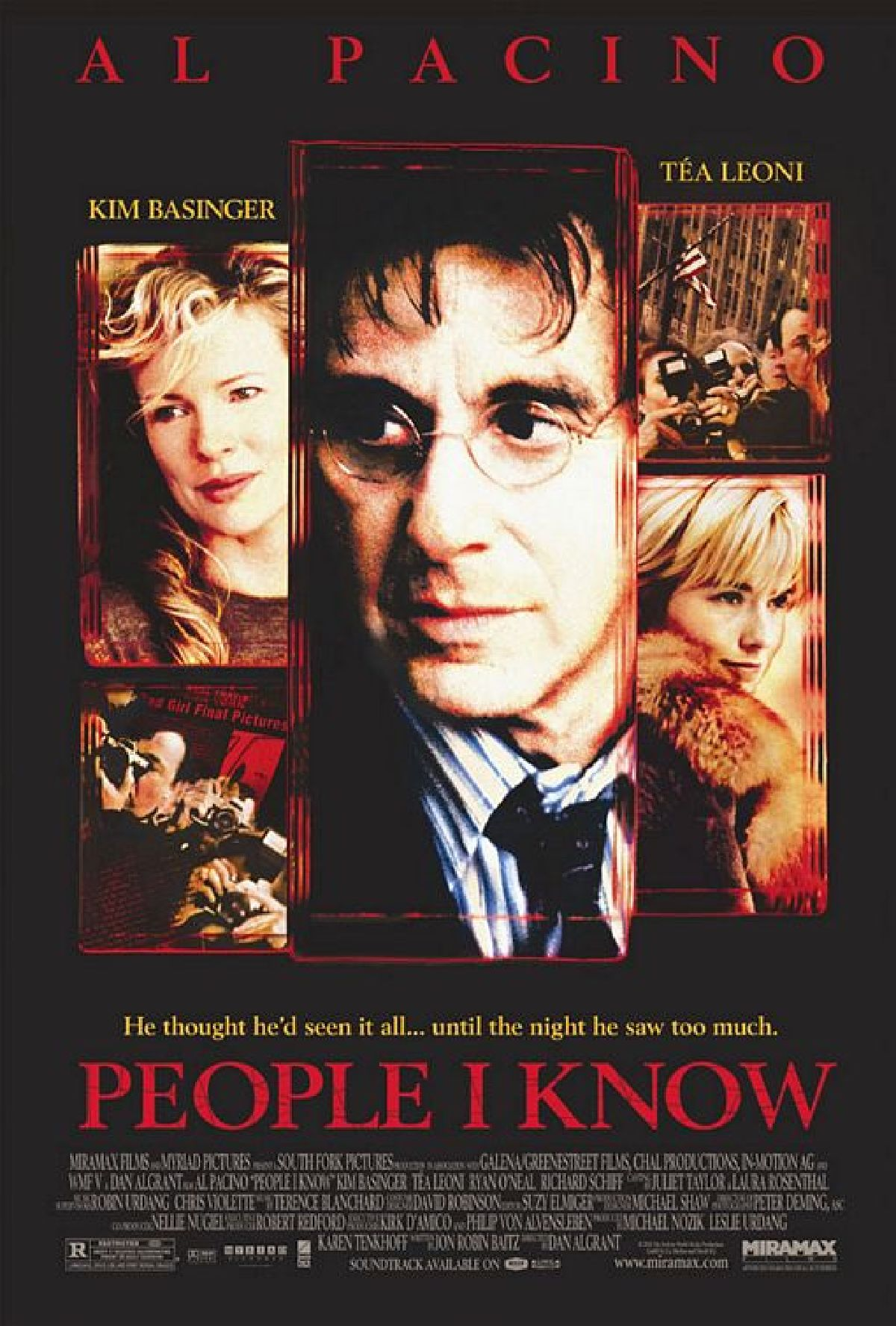 'People I Know' movie poster