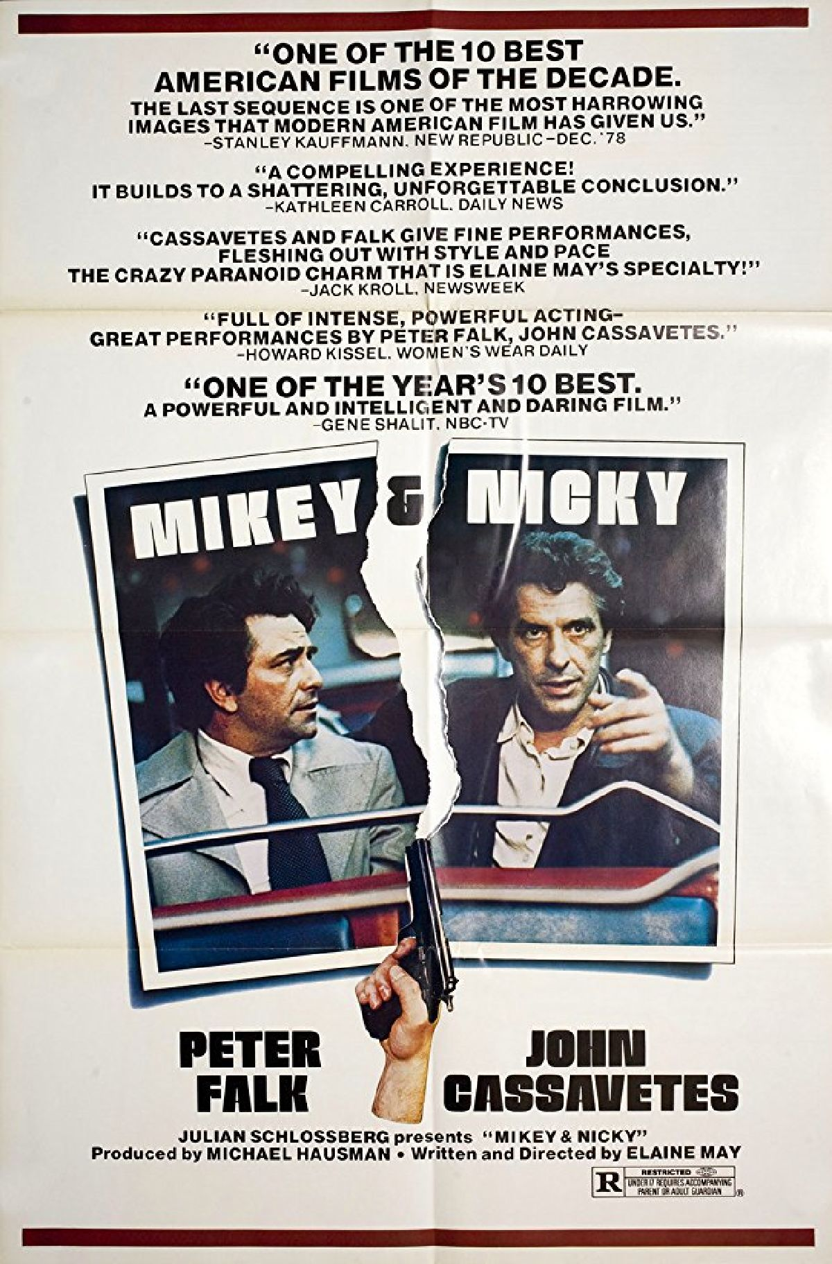 'Mikey And Nicky' movie poster