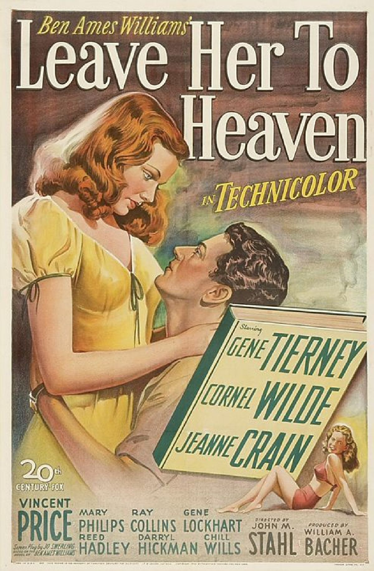 'Leave Her To Heaven' movie poster