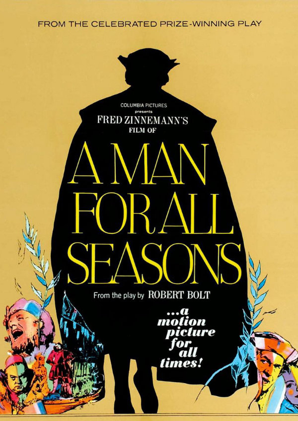 'A Man For All Seasons' movie poster