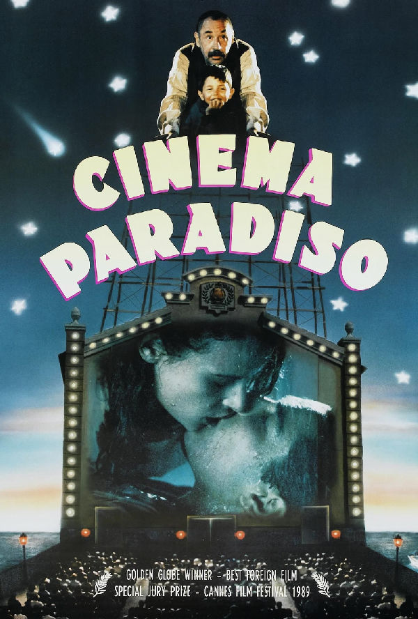 'Cinema Paradiso' movie poster
