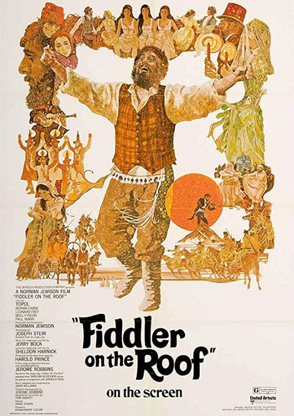 'Fiddler On The Roof' movie poster