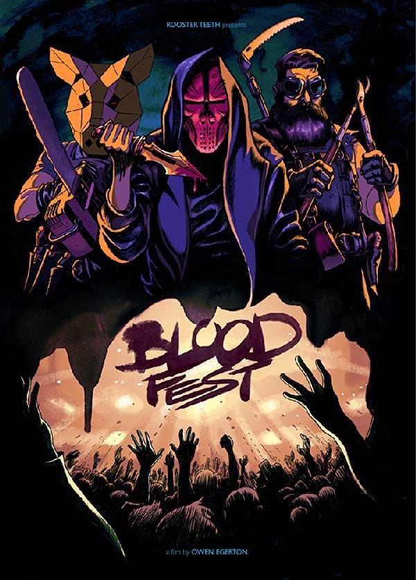 'Blood Fest' movie poster