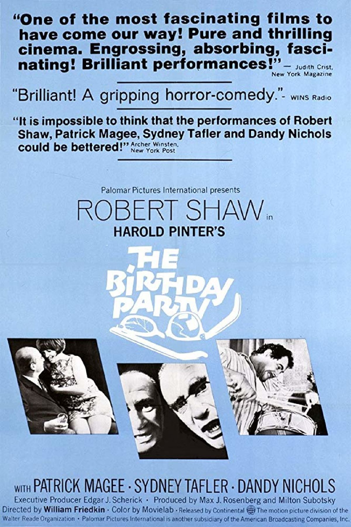 'The Birthday Party' movie poster