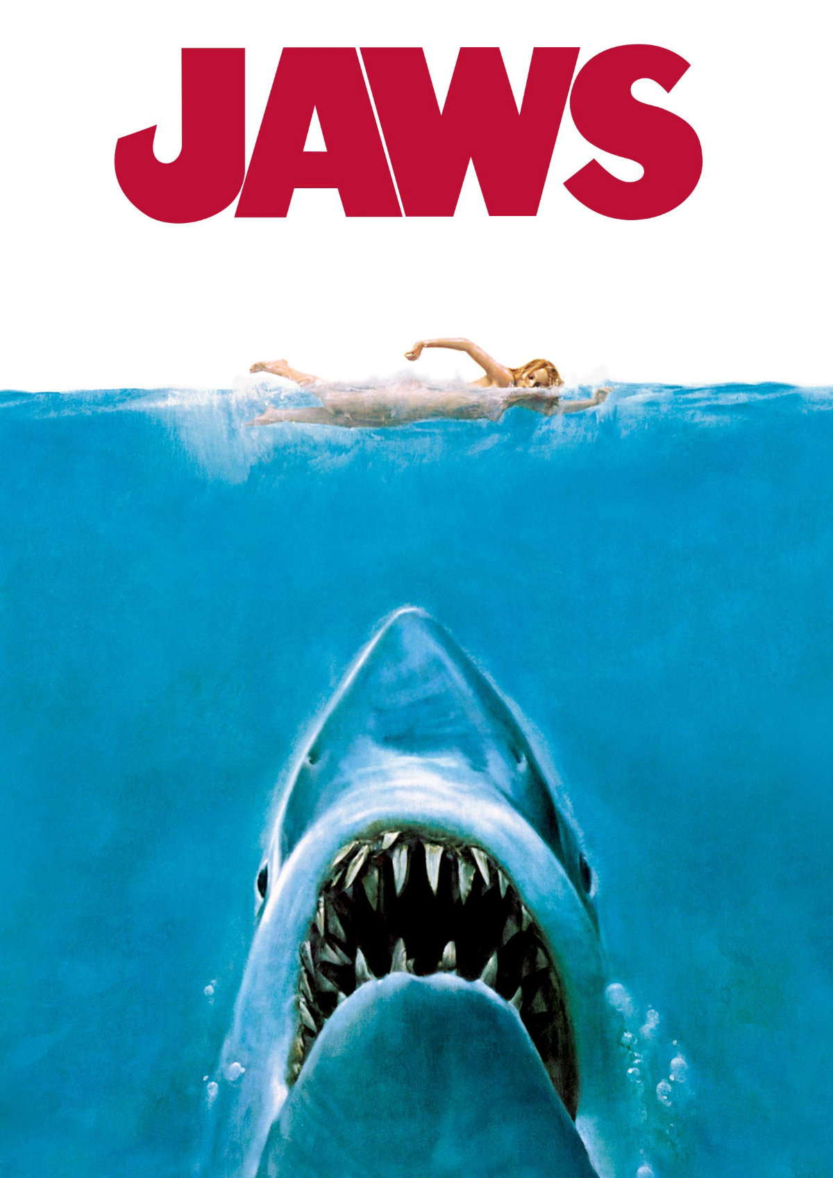 'Jaws' movie poster