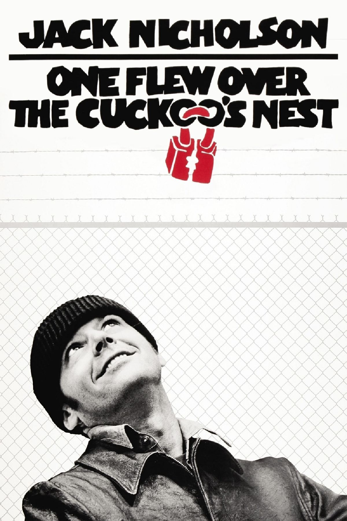 'One Flew Over the Cuckoo's Nest' movie poster