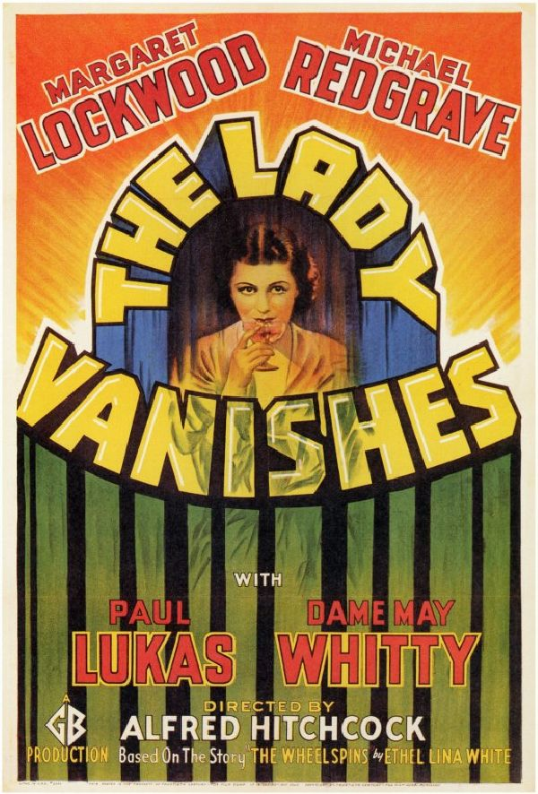 'The Lady Vanishes' movie poster