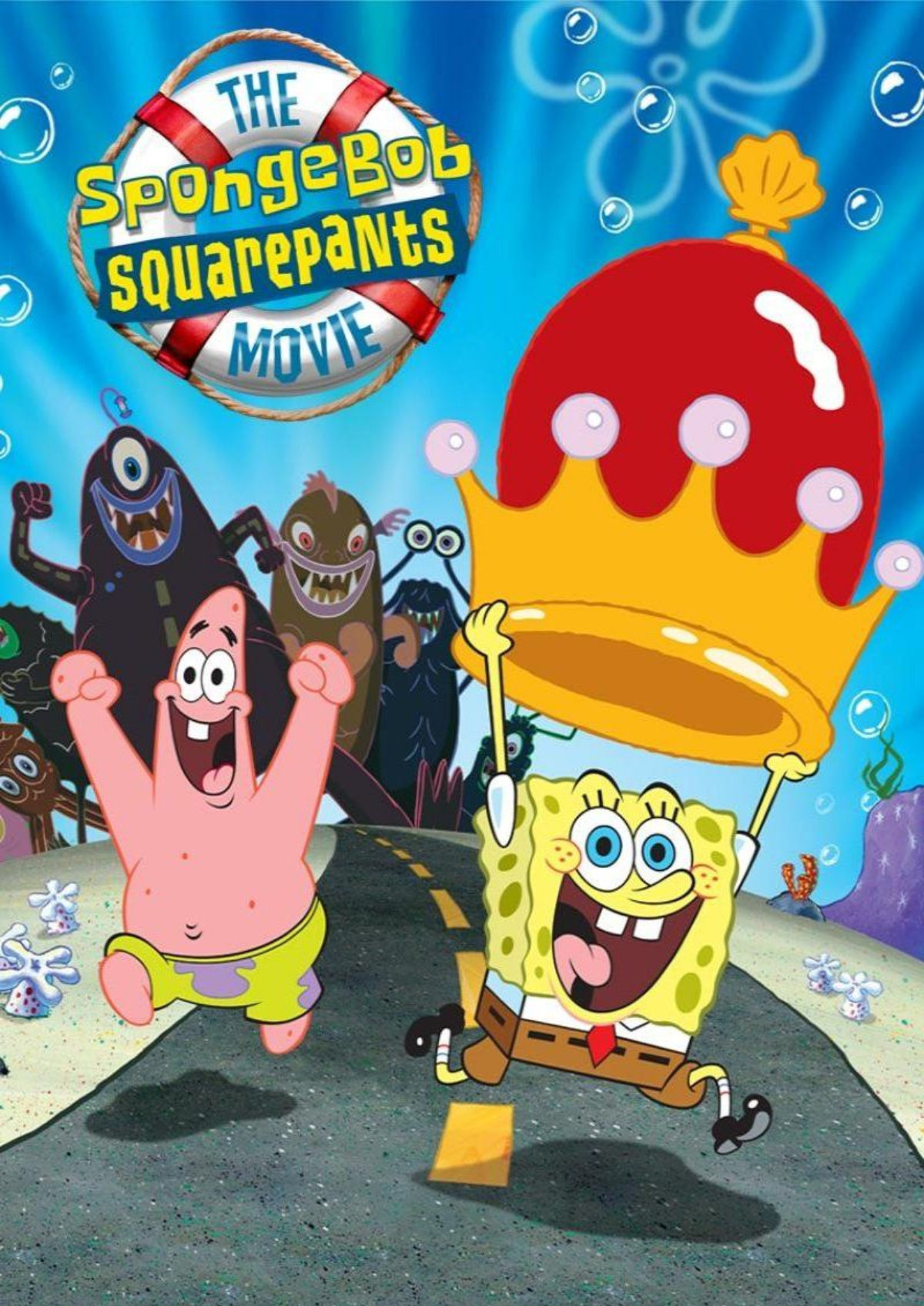 'The SpongeBob SquarePants Movie' movie poster