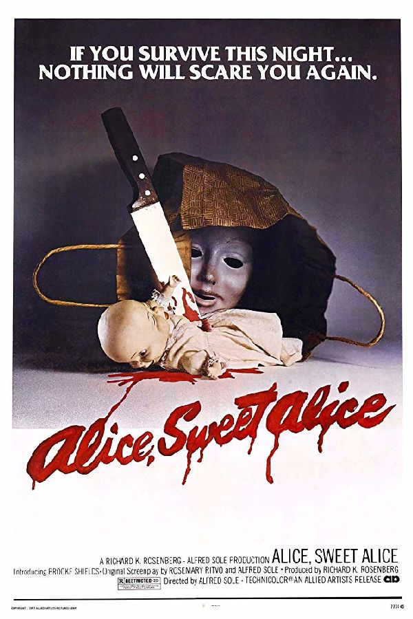 'Alice, Sweet Alice (aka Communion)' movie poster