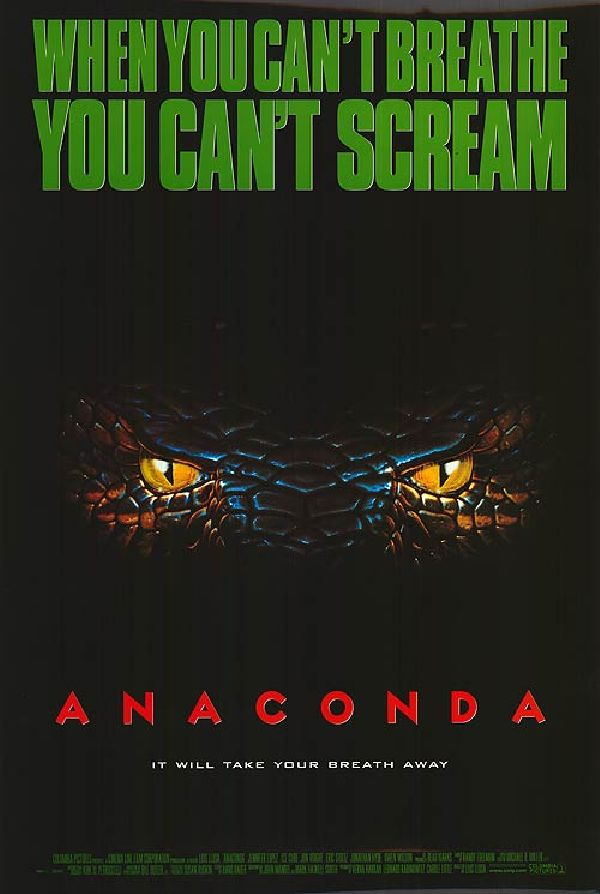 'Anaconda' movie poster