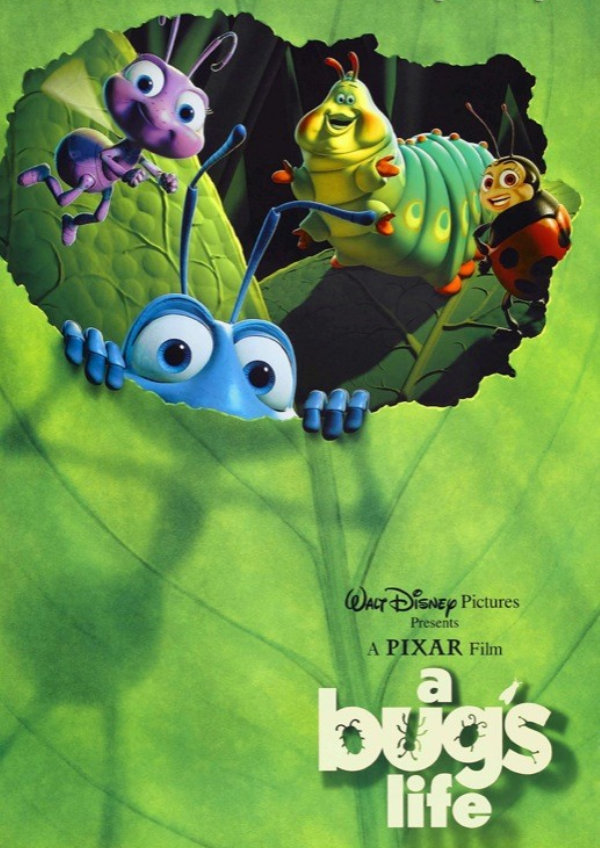 'A Bug's Life' movie poster