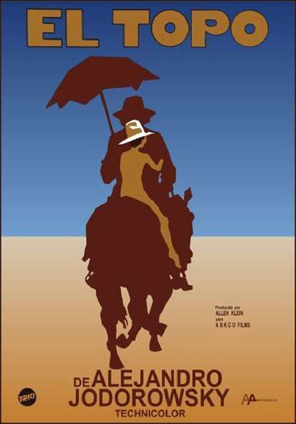 'El Topo' movie poster