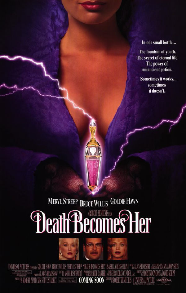 'Death Becomes Her' movie poster