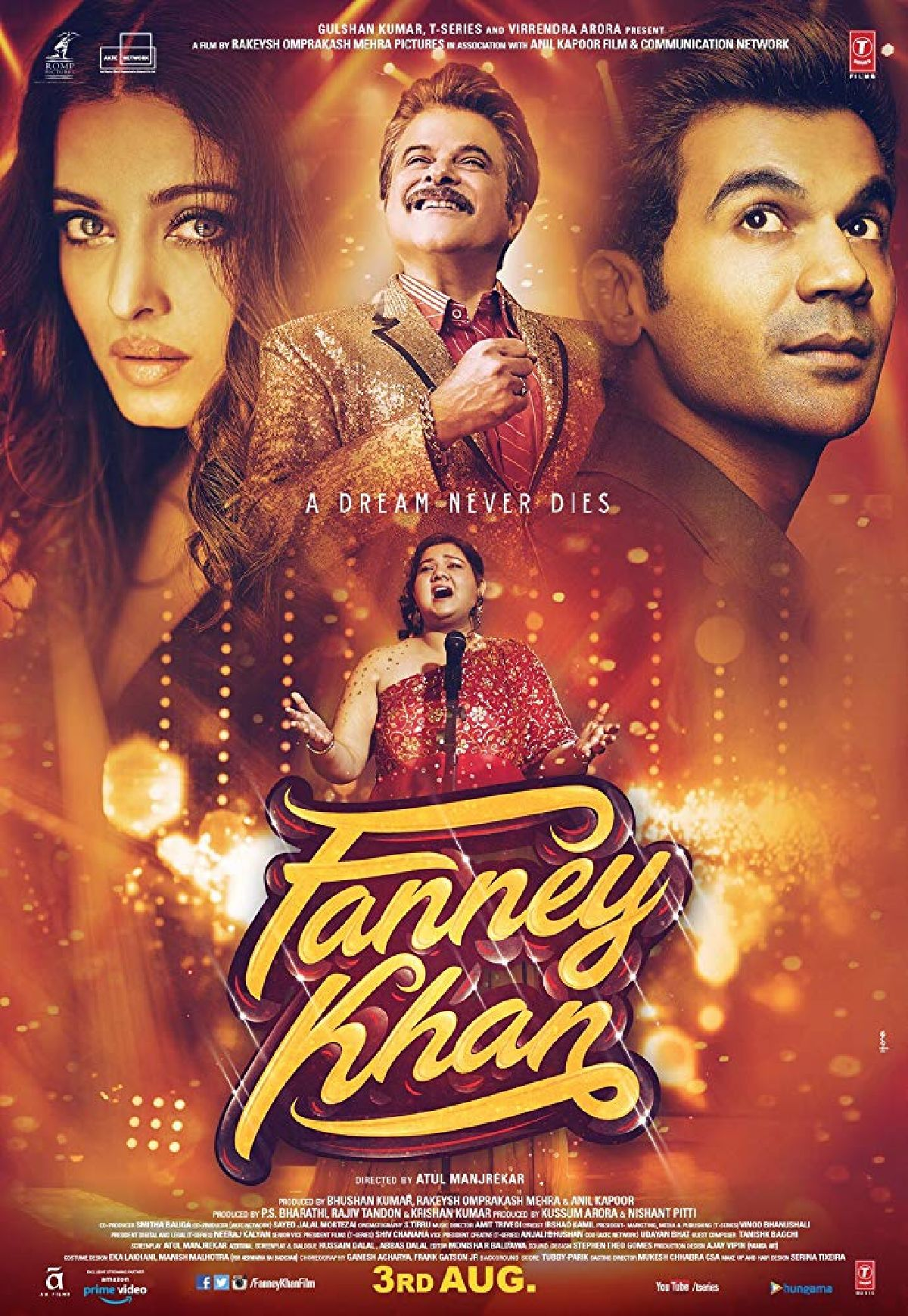 'Fanney Khan' movie poster