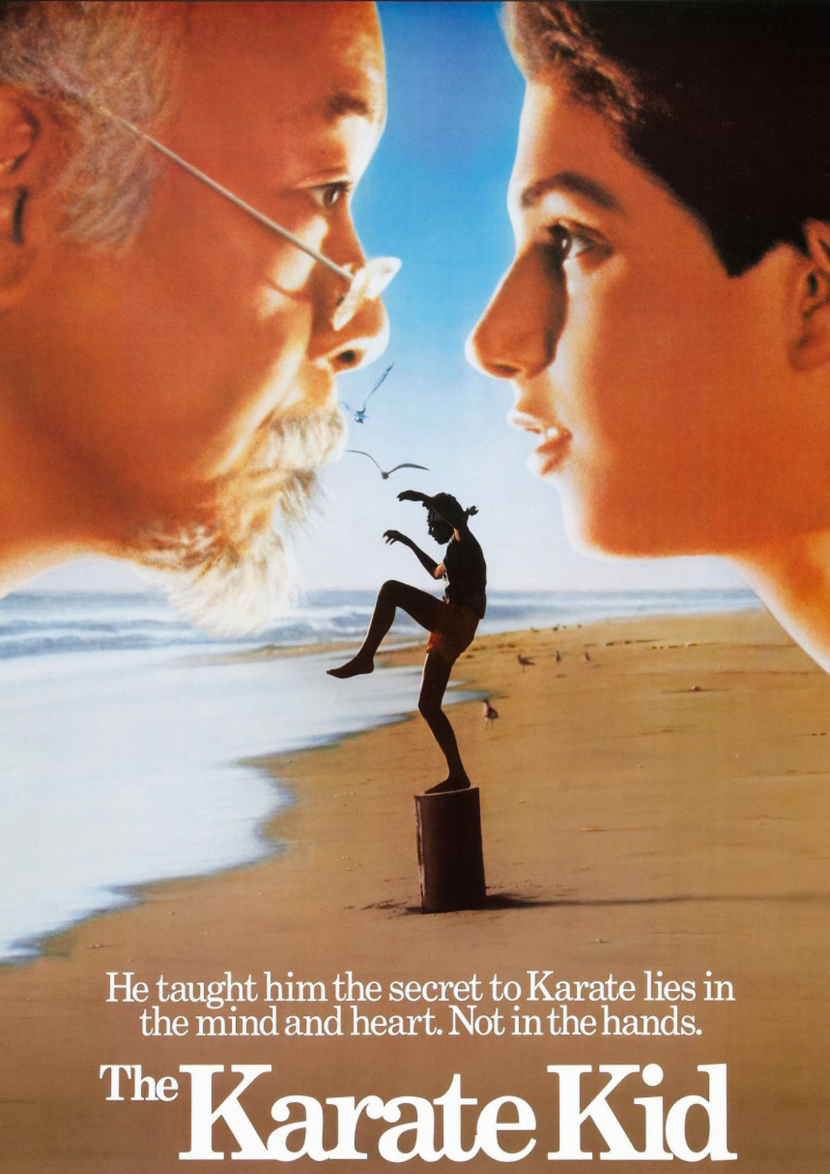 'The Karate Kid (1984)' movie poster