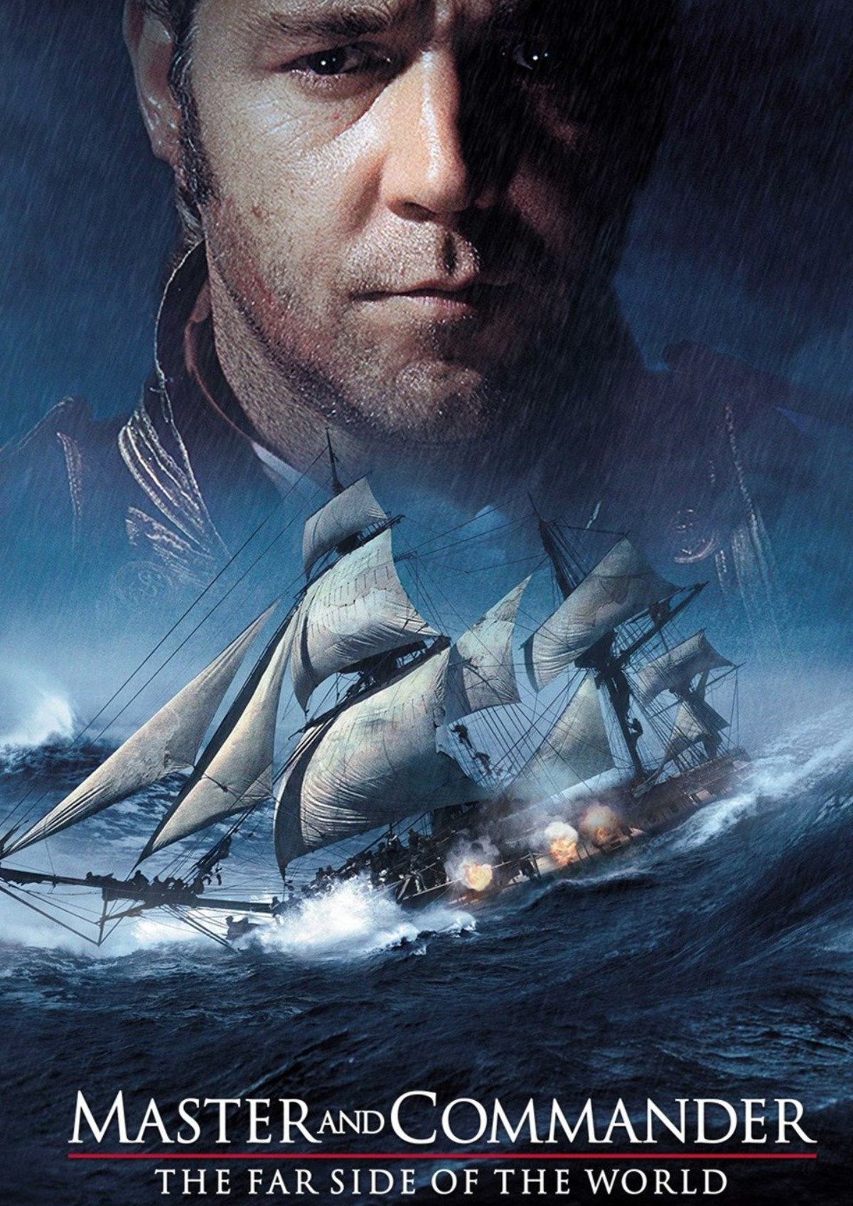 'Master And Commander: The Far Side Of The World' movie poster