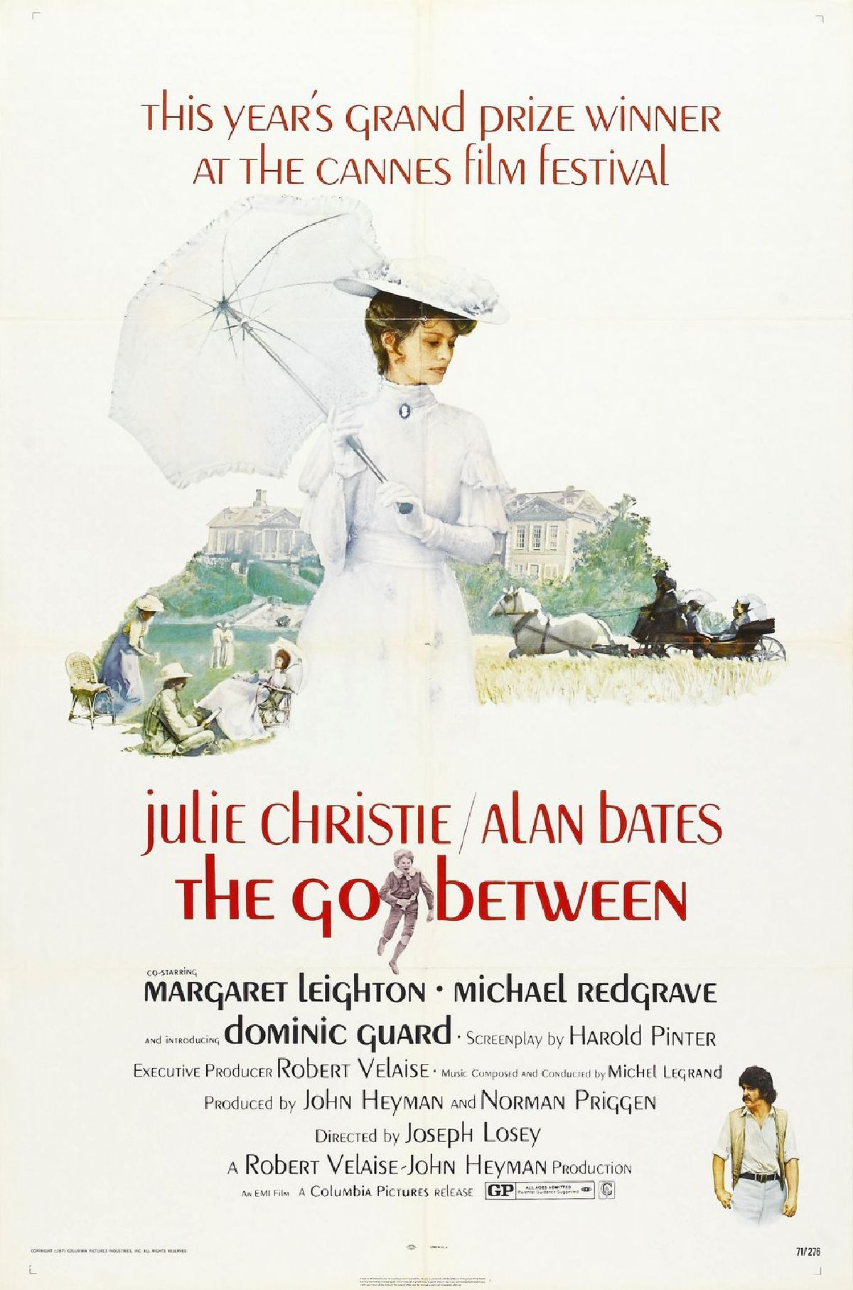 'The Go-Between' movie poster