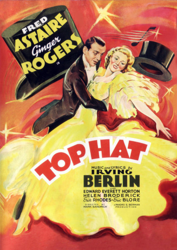 'Top Hat' movie poster
