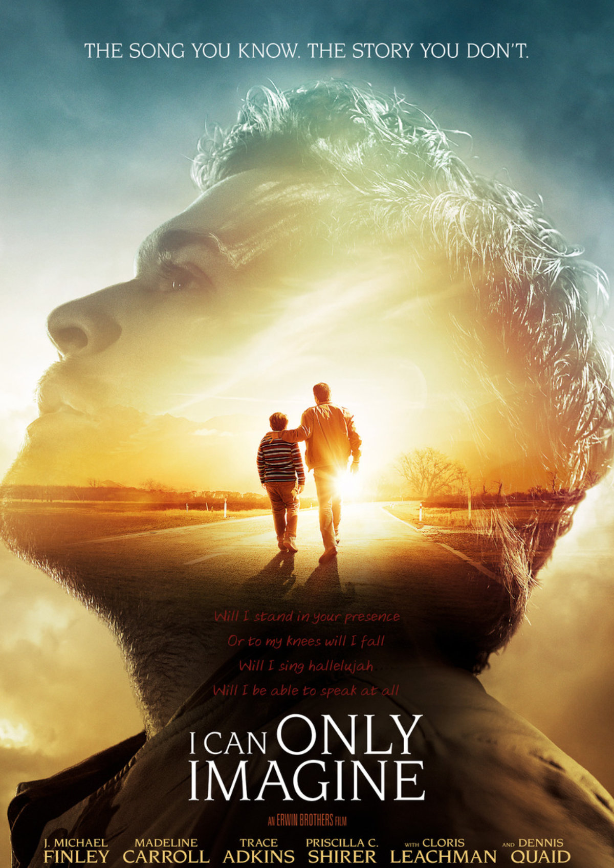 'I Can Only Imagine' movie poster
